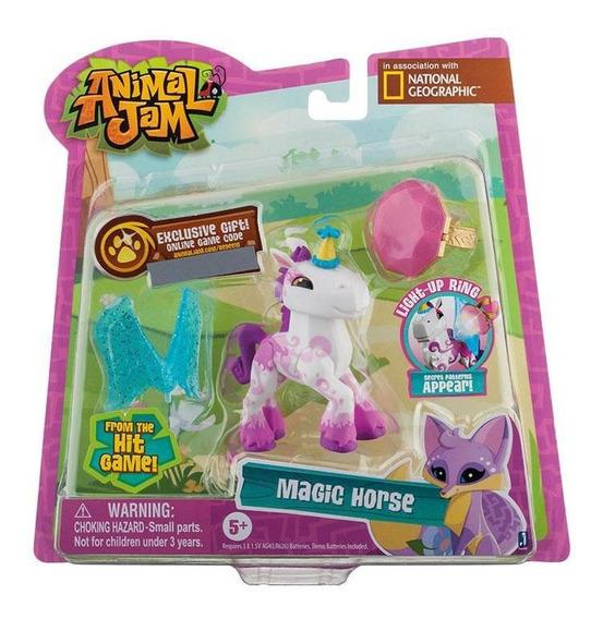 Animal Jam Iluminados Com Anel Cavalo Mágico -fun Divirta-se