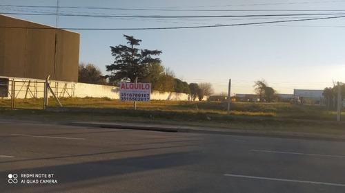 Imagen 1 de 4 de Alquilamos Terreno Sobre Avenida La Voz Del Interior 7435