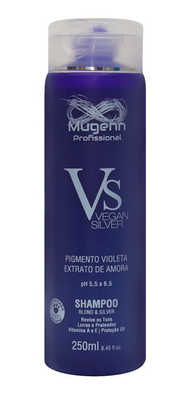 Shampoo Vegano Mugenn Cosméticos Blond & Silver - 250ml