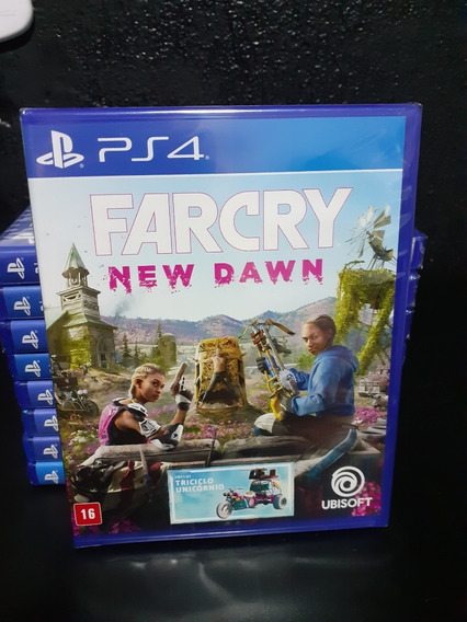 Farcry New Dawn Ps4 Midia Fisica Lacrada