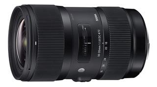 Lente Sigma 18-35mm F1.8 Dc Hsm | Art - Montura Sony Tipo A