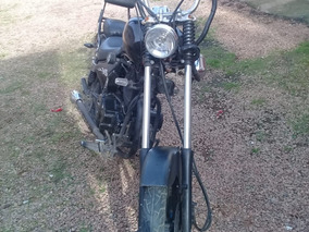 Moto Kansas Customizada