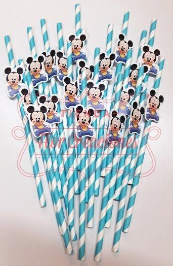 Sorbetes De Papel Mickey Bebe Candy Bar Cumpleaños