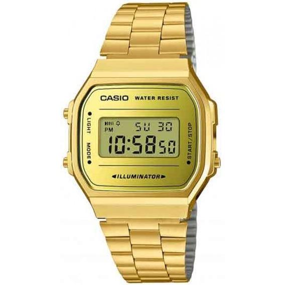 Relógio Casio A168wegm-9df Com Nota Fiscal