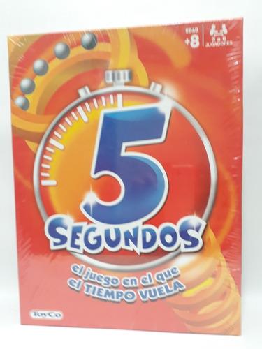 5 Segundos Donde El Tiempo Vuela-toyco Juego De Mesa
