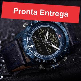 Relógio Masculino Naviforce Luxo Esportivo Original Promoção