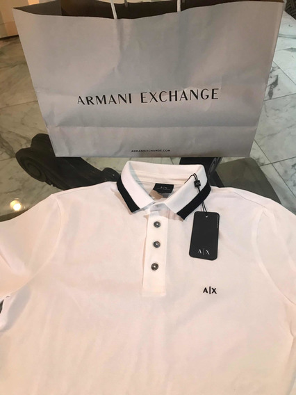 Playera Polo Armani Exchange Talla S Original Y Nuevas
