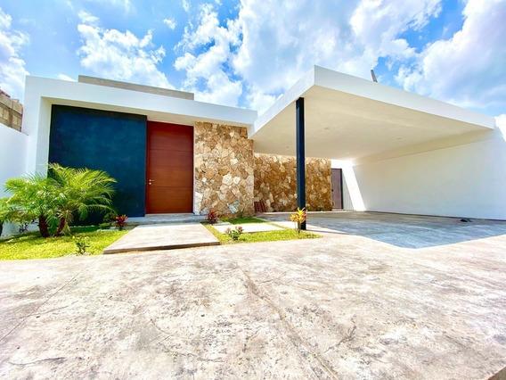Casa Piedra Dzityá, Nuevo Diseño, Una Planta, 3 Habts.+ Alberca. ¡estrena!