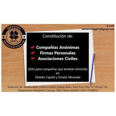Registro Mercantil Empresas Firma Personal Rnc Publicaciones