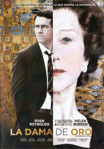 La Dama De Oro Woman In Gold Helen Mirren Pelicula Dvd