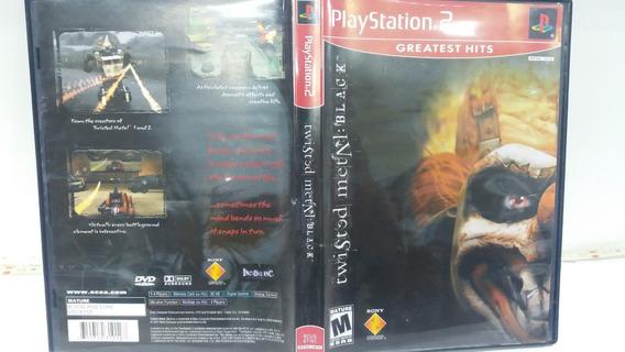 Jogo Ps2 Twisted Metal Black Original Completo Playstation 2