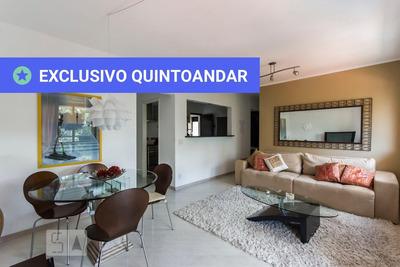 Apartamento No 5º Andar Mobiliado Com 1 Dormitório E 2 Garagens - Id: 892820648 - 120648
