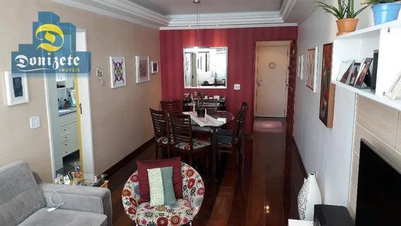 Apartamento Com 3 Dormitórios À Venda, 102 M² Por R$ 490.000,01 - Vila Gilda - Santo André/sp - Ap8187