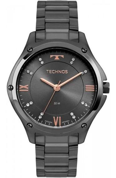 Relógio Technos Feminino Fashion Black 2036mlf/4c