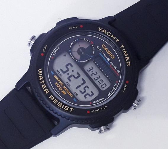 Casio Trw-31 Yatch Timer Chronograph Japan Raro Década De 80