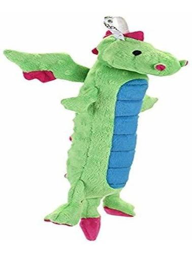 Godog Skinny Dragones Pequeño Juguete Verde Con Protector D