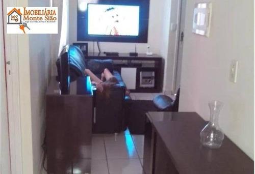 Apartamento Com 2 Dormitórios À Venda, 45 M² Por R$ 156.900,00 - Vila Nova Bonsucesso - Guarulhos/sp - Ap1565