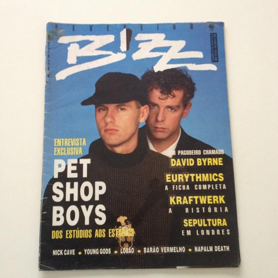 Revista Bizz 02 Pet Shop Boys David Byrne