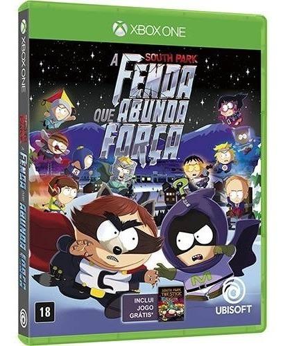 South Park - A Fenda Que Abunda Força Edição Limitada - Dublado Em Portugues - Midia Fisica Original Lacrado - Xbox One