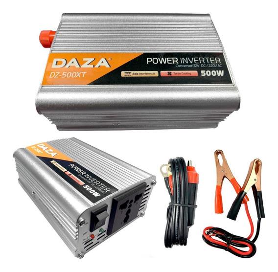 Transformador Conversor 12v A 220v 500w Inversor Auto Cuotas