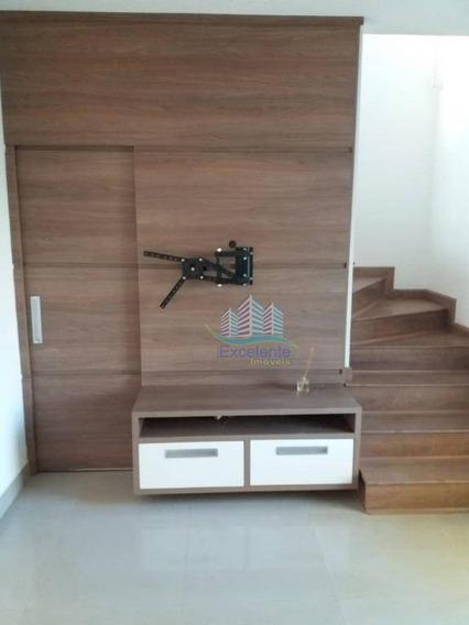 Sobrado Com 2 Dormitórios À Venda, 67 M² Por R$ 278.000 - Jardim Interlagos - Hortolândia/sp - So0242