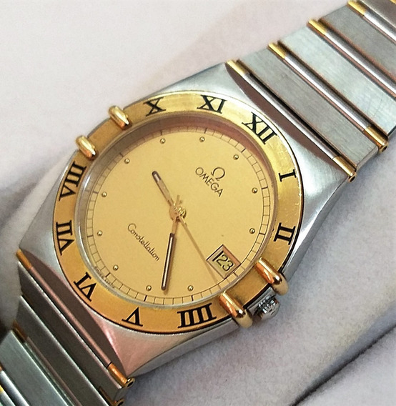 Omega Constellation Steel Gold Zerado Box 12 X Sem Juros !!!