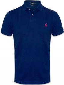 Camisa Ralph Lauren Original Polo Infantil M (10-12) Azul