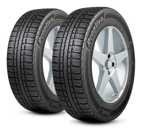 Kit X2 Neumáticos 175/70/13 Fate Prestiva 82t + Balanceos