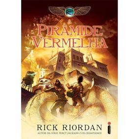 Livro A Pirâmide Vermelha , De Rick Riordan