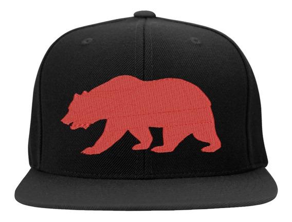 Boné Bordado - Urso California Califa Los Angeles West Side