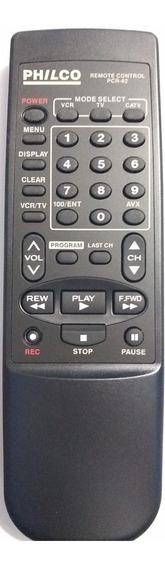 Cr-0087 Controle Remoto P/ Video K7 Hf12/pcr62 Universal Phi