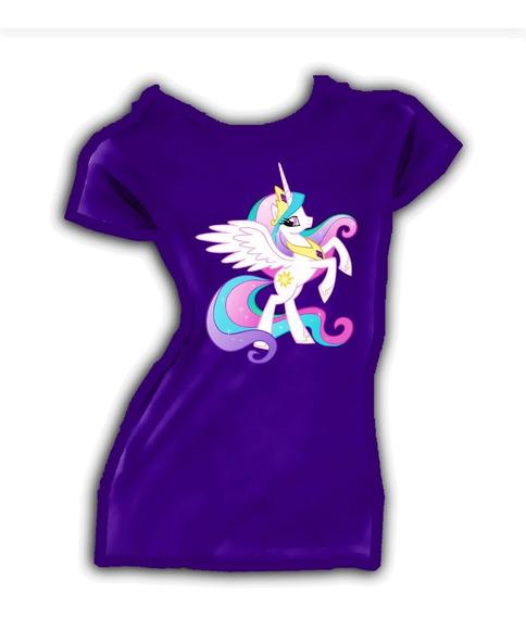 Playera O Camiseta My Little Pony Fiesta Personalizada Unisx