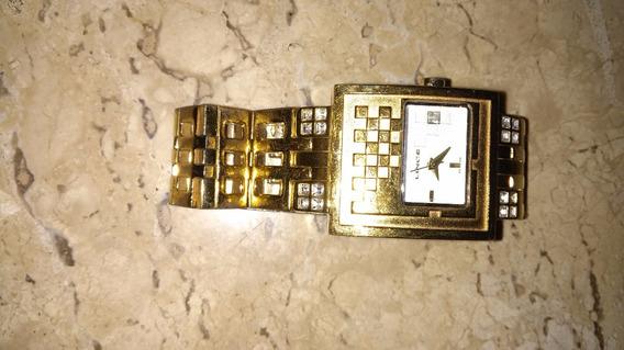 Relogio Linge Original Dourado