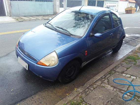 Ford Ka Azul 1998 Econômico E Barato
