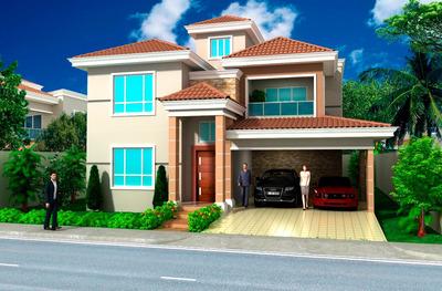 Residencial De Casas En Bani