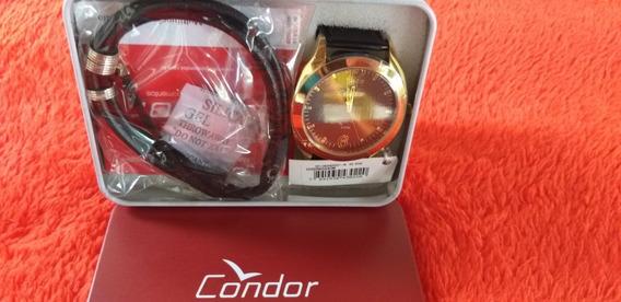 Relógio Condor Masculino Co2035kqq/k2m, Ref.015