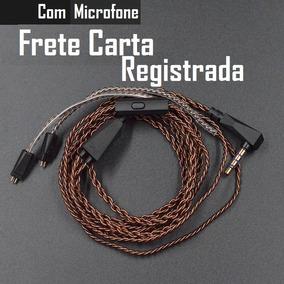 Cabo Kz Original Com Microfone Zs6 Zs5 Zs3 Zsa Ed16 Cobre