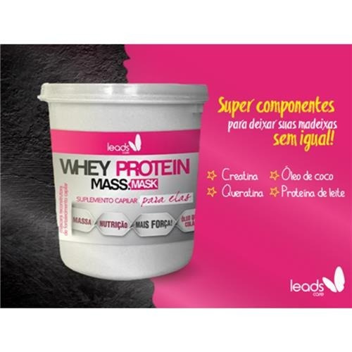 Whey Protein Mass Mask Leads Care 250g