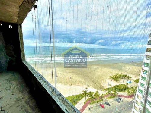 Lançamento Espetacular Frente Mar,olha A Vista Da Sacada!!!!!!! - Vant4771