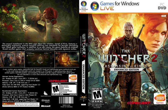 The Witcher 2 Pc (midia Física)