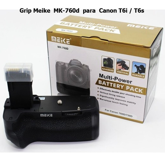 Grip Meike Mk-760d Para Canon T6i / T6s