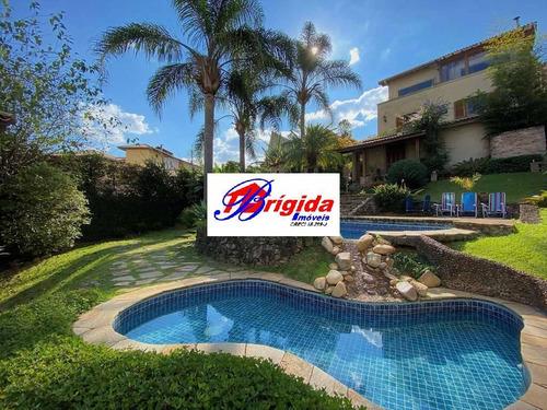 Imagem 1 de 15 de Condomínio Sp Ii - 4 Dorms (1ste) Rústica, Linda E Impecável! - 822m