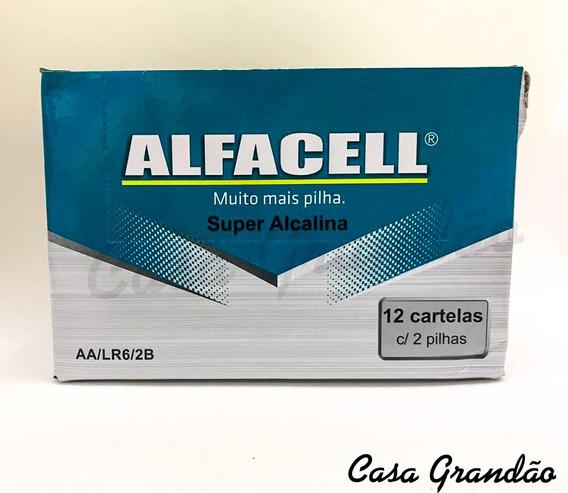 Pilhas Super Alcalinas Aa - Lr6/2b