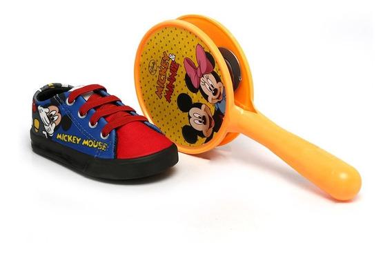 Tênis Disney Soft Mickey Preto Dd0353
