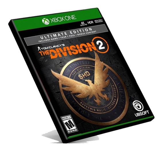 The Division 2 Ultimate Xbox One Midia Digital + Brinde