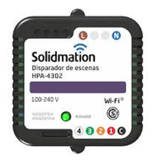 Disparador De Escenas Wifi Solidmation