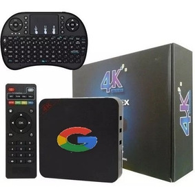 Tv Box Smart 4k Hdmi 16gb 2gb Ram Netflix Android + Teclado