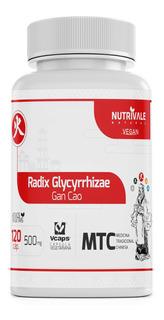 Alcaçuz Mtc Radix Glycyrrhizae Gan Cao 120 Cáps Nutrivale