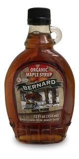Jarabe De Arce Maple Syrup Dark Bernard 354ml