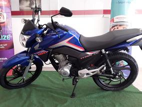 Honda Cg160 Titan Ex, Freios Cbs, Painel Digital, Motor Flex